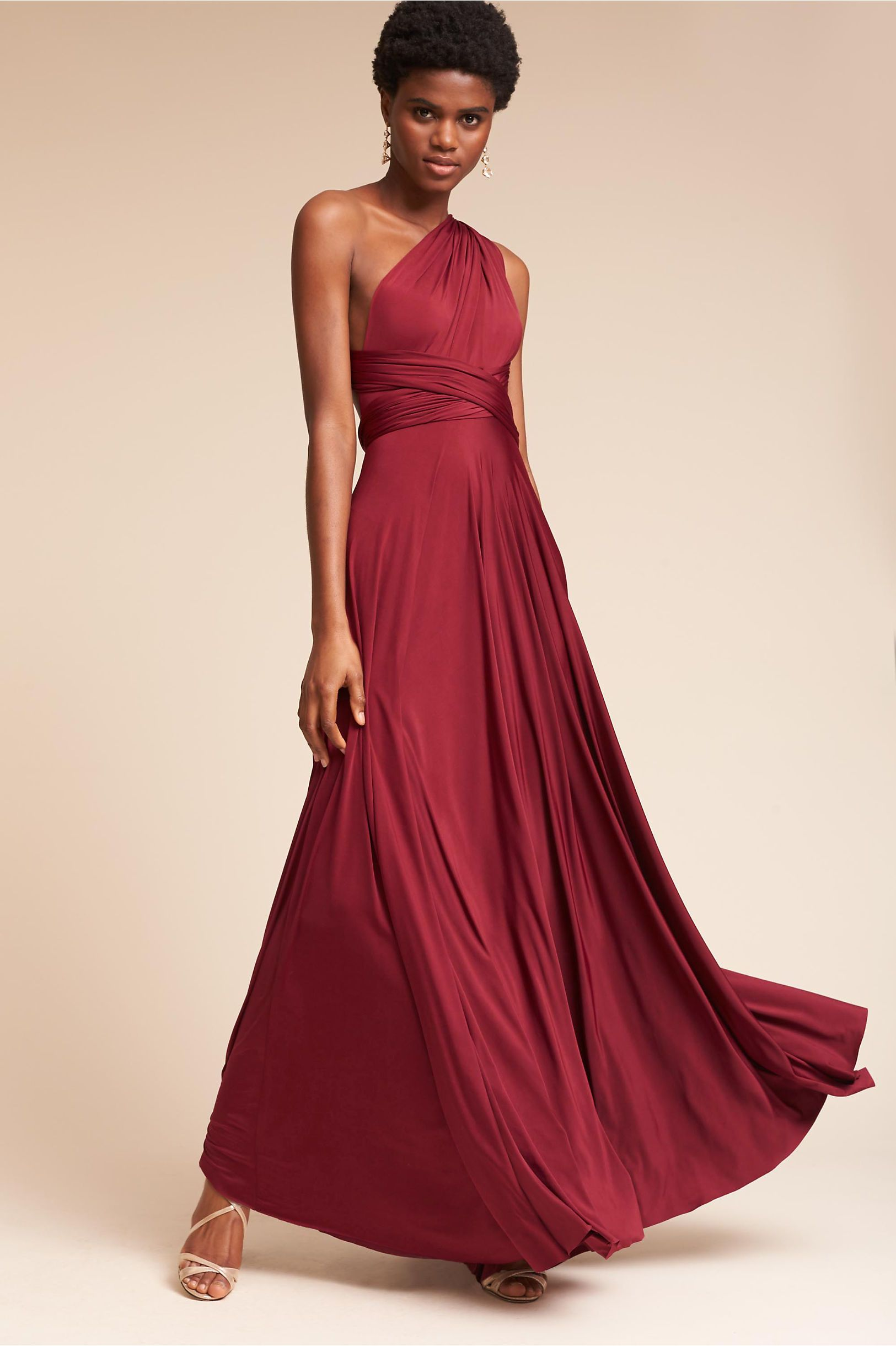 Bhldn ginger convertible maxi dress in bridal party bhldn