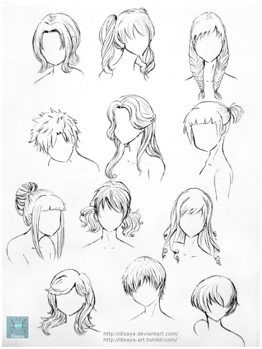 Photo of Hair Reference 1 By Disaya On Deviantart
