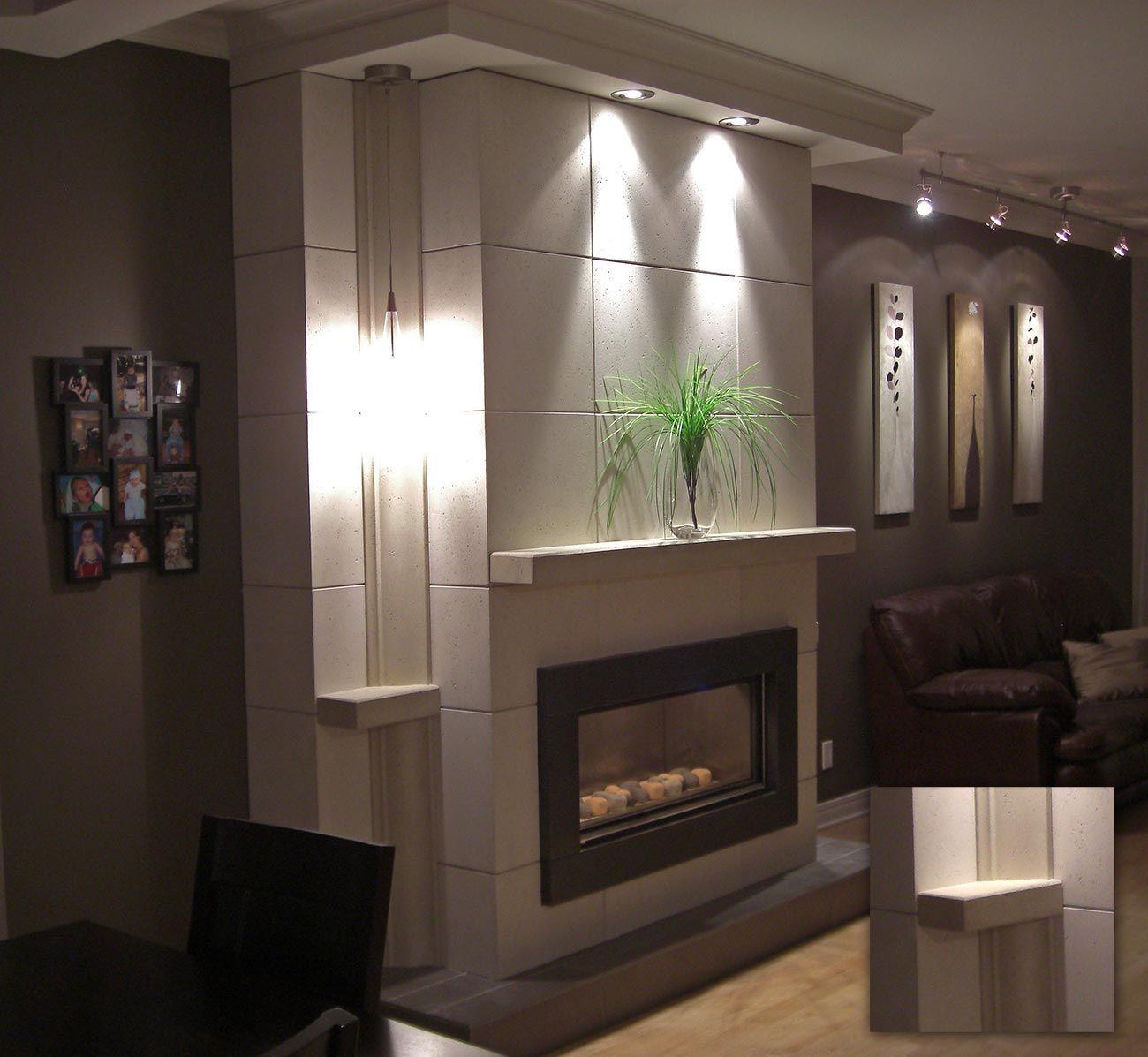 Image result for mur tv et foyer new house pinterest d co salon mur tv and salon - Decoration foyer salon ...
