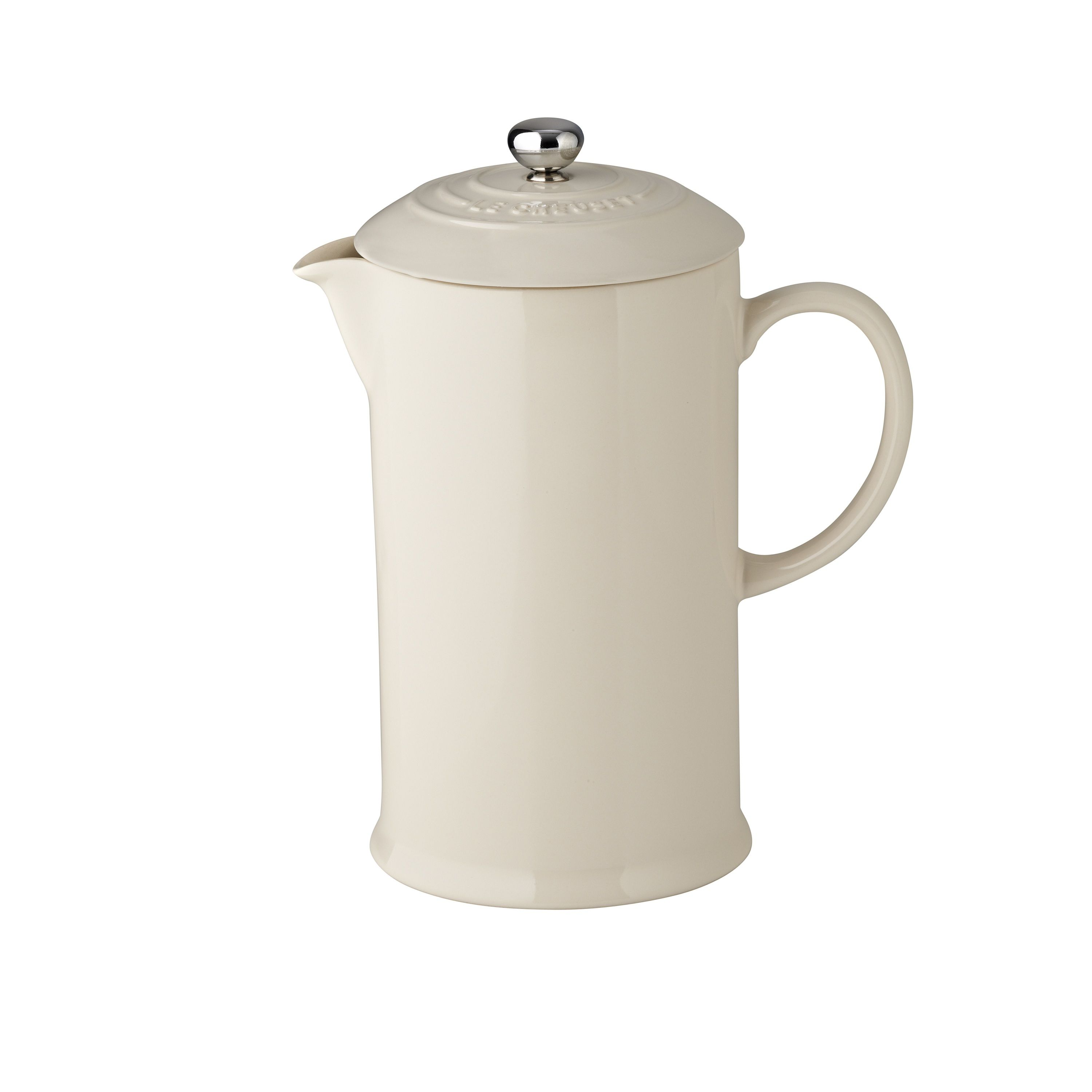 coffee brewed in a traditional french press always tastes good this