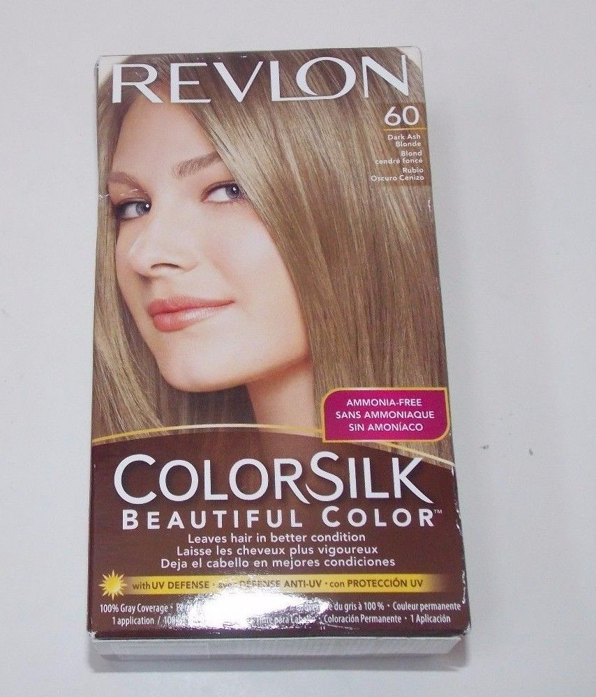 Revlon Colorsilk Hair Color #60 Dark Ash Blonde #Revlon | hair ...