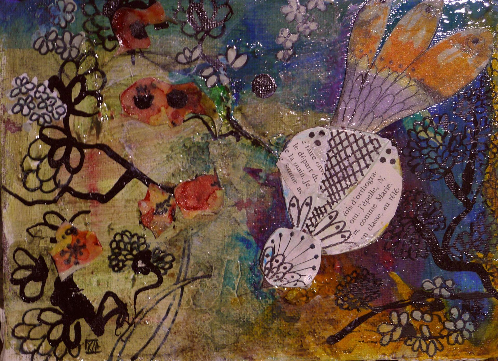 Tableau art contemporain peinture moderne acrylique for Tableau peinture contemporain