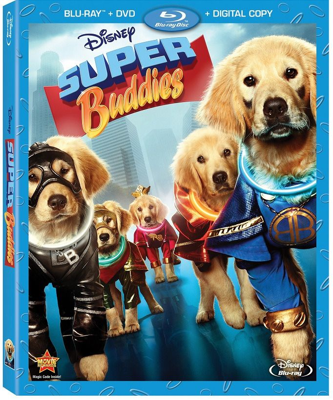Enter To Win A Copy Of Disney S Super Buddies Disney Movies