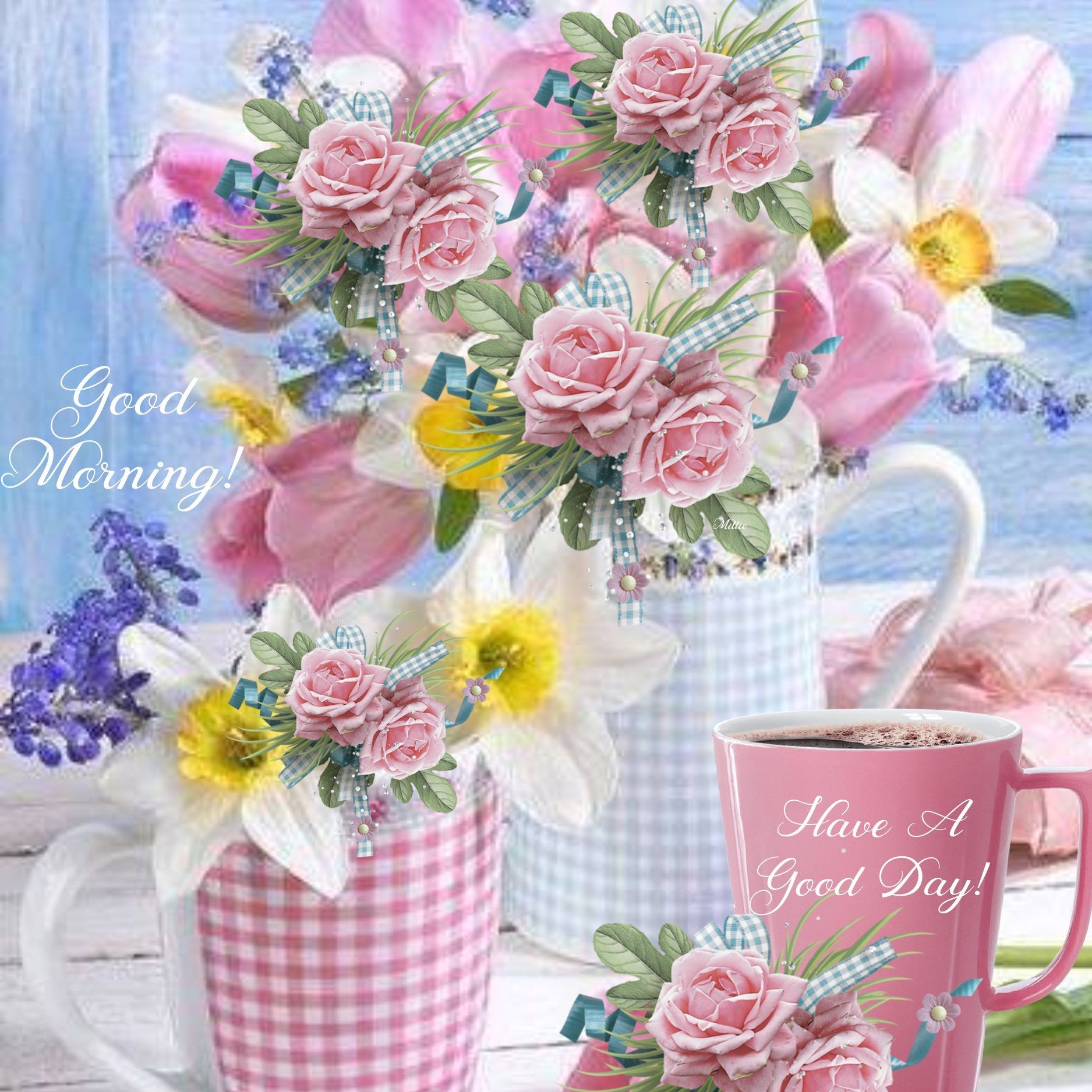 Millie's Coffee Corner. Facebook Good morning wishes