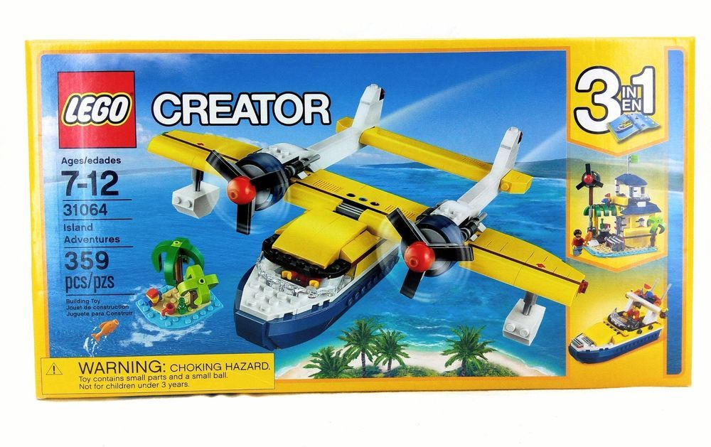 "You are buying a Lego Set ""Creator"" 31064 Island"