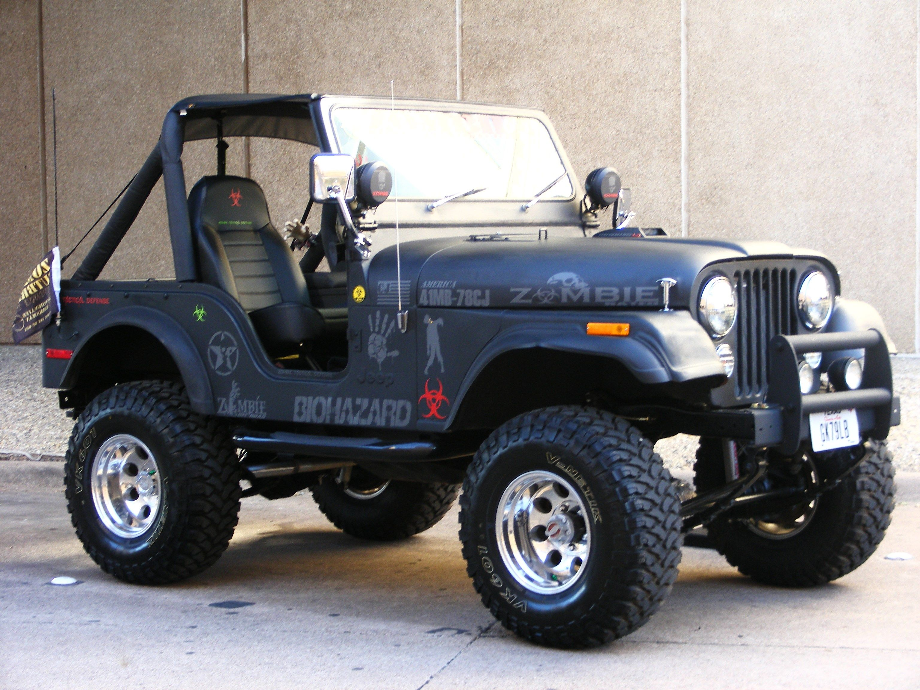 1978 Cj5 Zombie Rig Jeep Cj Jeep Jeep Life