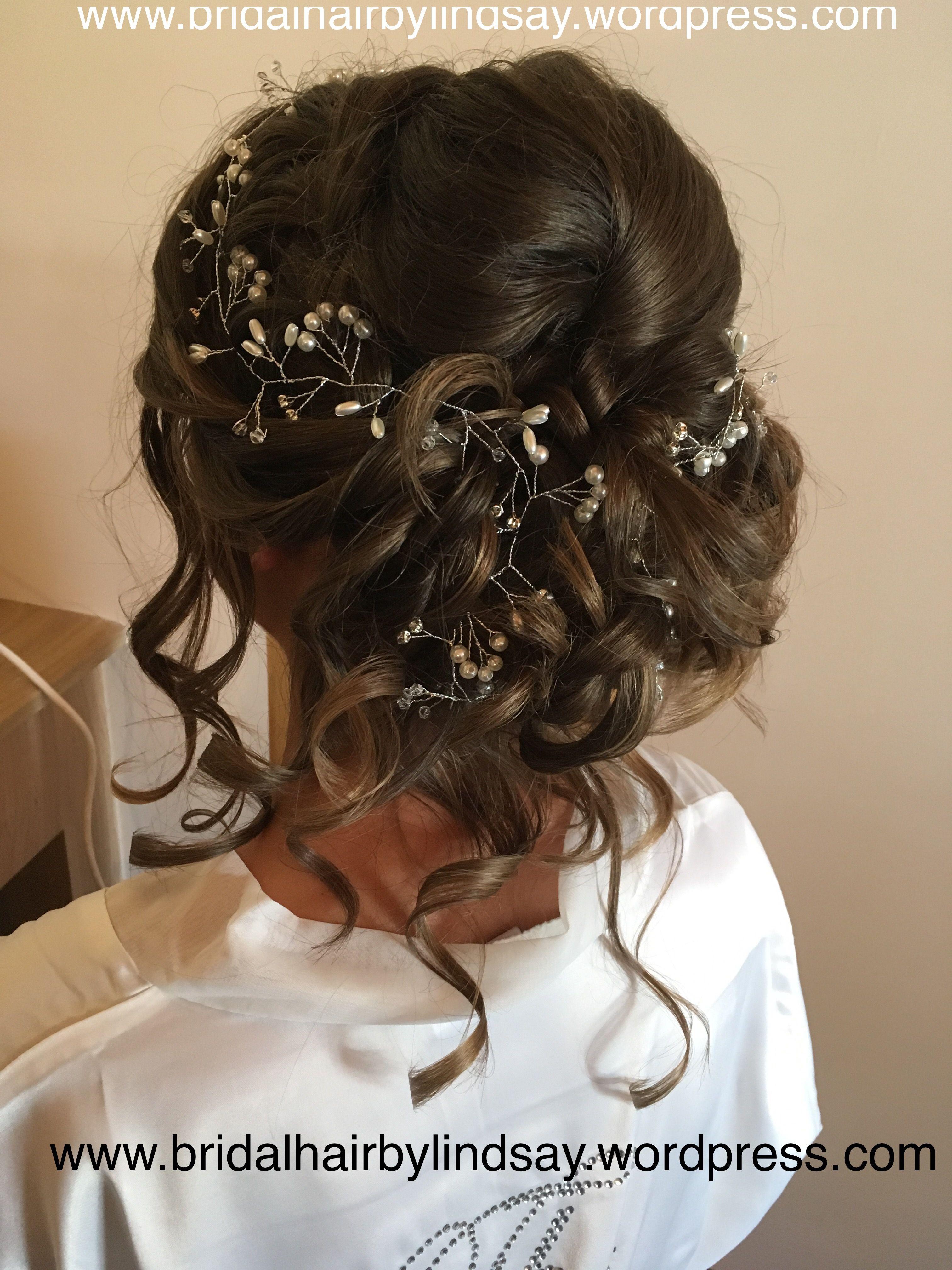bridalhair by me #stafford #cannock #midlands #updo #cascade