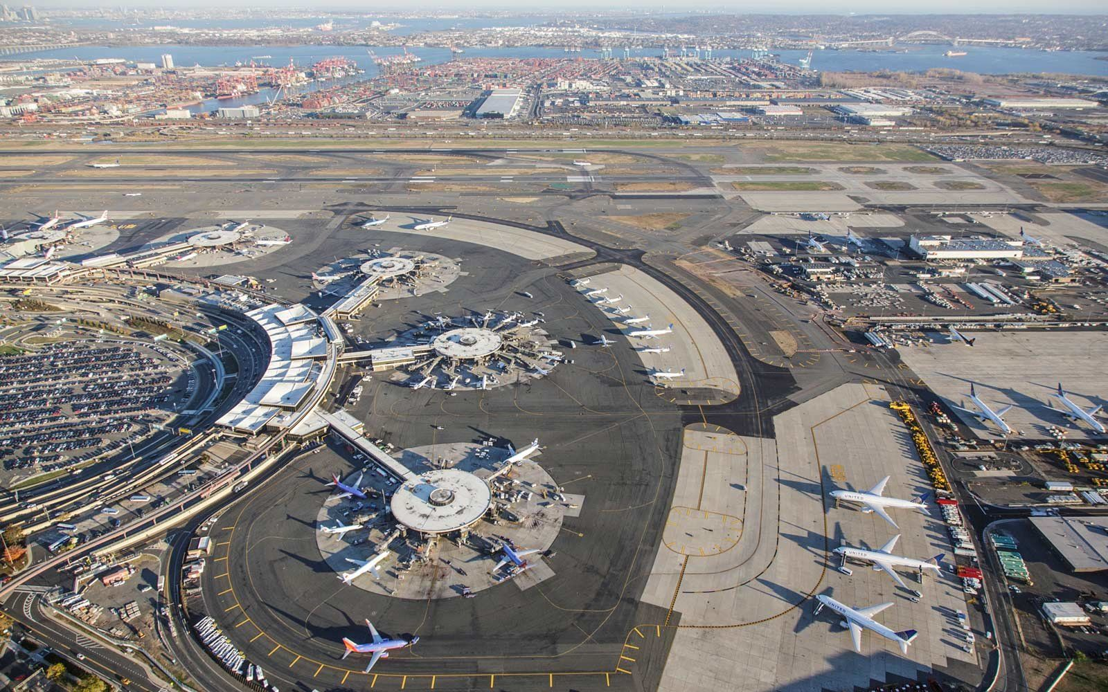 Newark Airport Map and Terminal Guide Parking, Public
