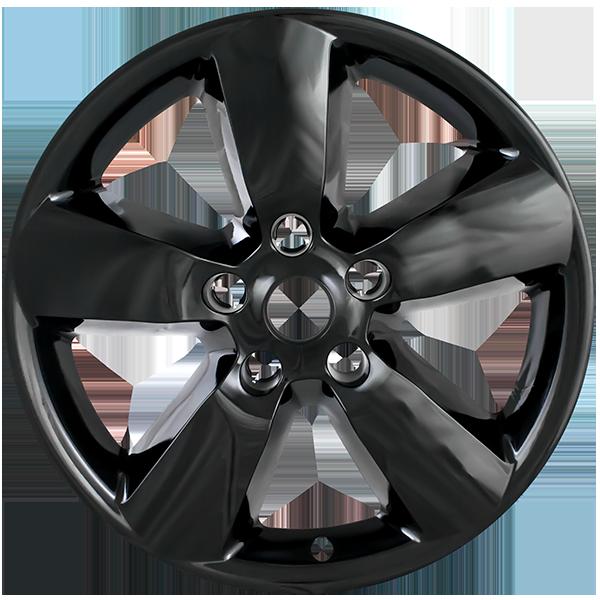 "2013-2018 Ram 1500 SLT /& EXPRESS # IMP-345X 17/"" 5 Spoke Chrome Wheel Skins SET//4"