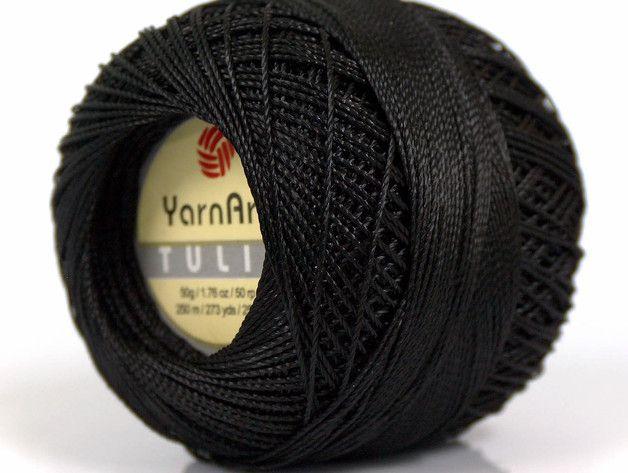 Brand :YarnArt Fiber Content :100% Micro Fiber Weight :50 gr. / 1.76 oz. per ball Length :250 m. / 273.4 yds. per ball Yarn Thickness :0 Lace: Fingering Crochet Thread Gauge: 32.0 sts = 4...
