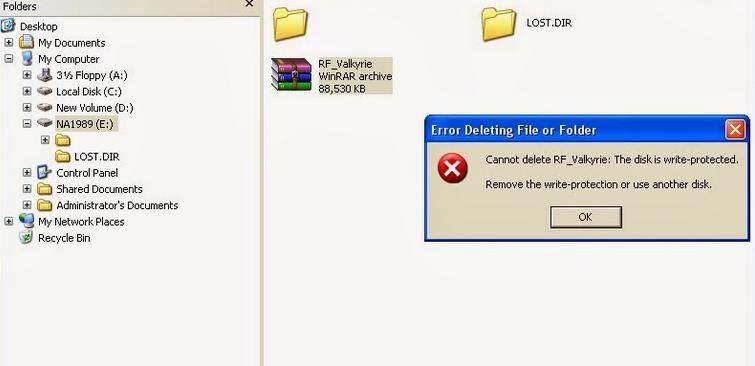 Cara Memperbaiki Flashdisk Write Protected pasti Berhasil