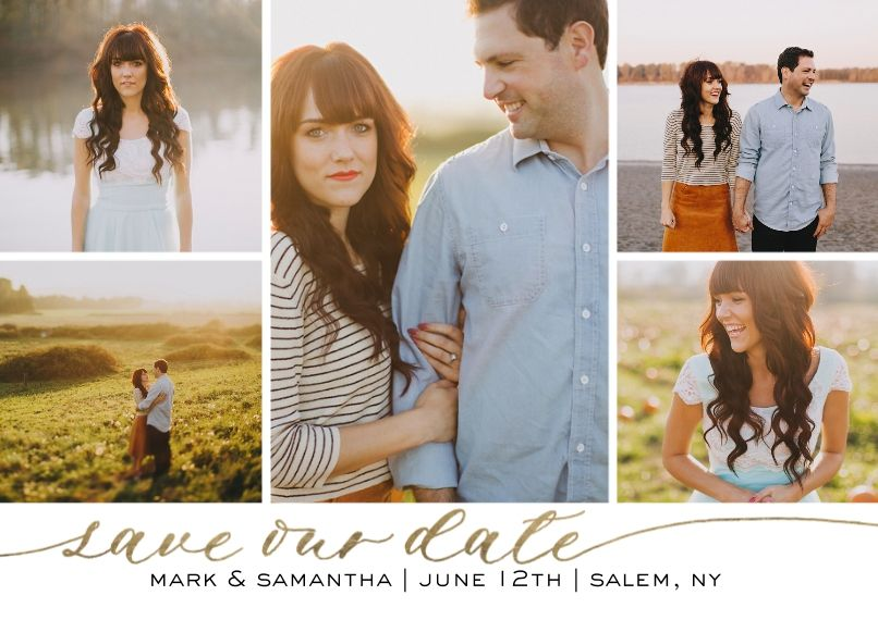 save the date cards save the date invites snapfish steph