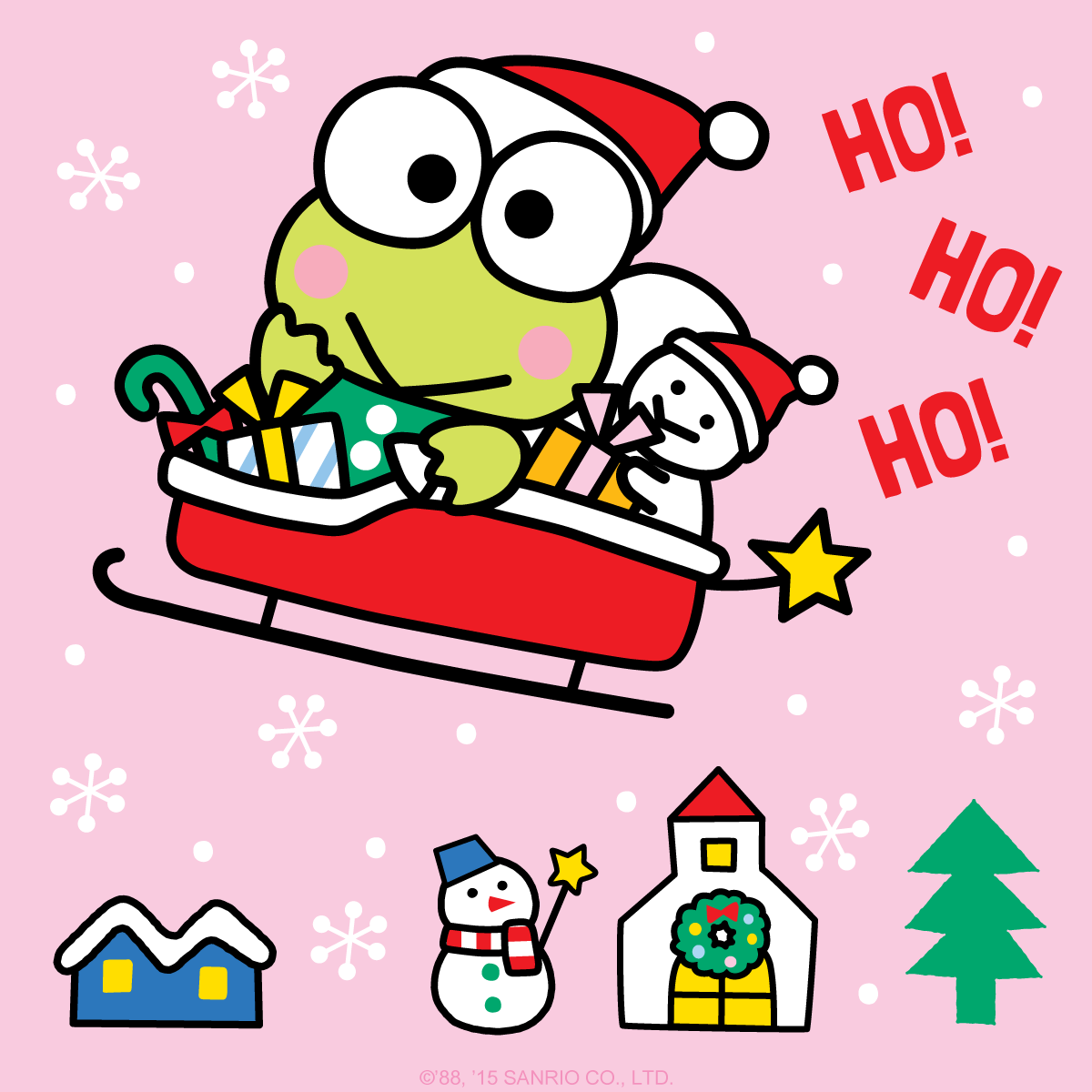 Keroppi Wallpaper Wallpapers: Ho-ho-holidays! In Celebration Of The Season, Here's A