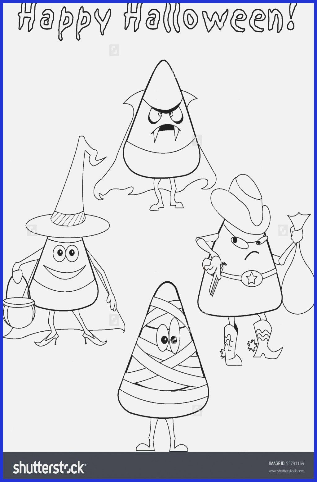 Candy Corn Coloring Page Unique 16 Inspirational Halloween