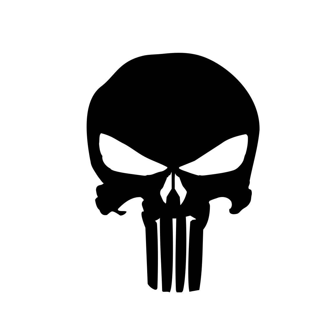 The Punisher Skull Marvel Comics Frank Castle Graphics Svg Dxf Eps Png Cdr Ai Pdf Vector Art Clipart Instant Download Di Elementos Graficos Justiceiro Estampas