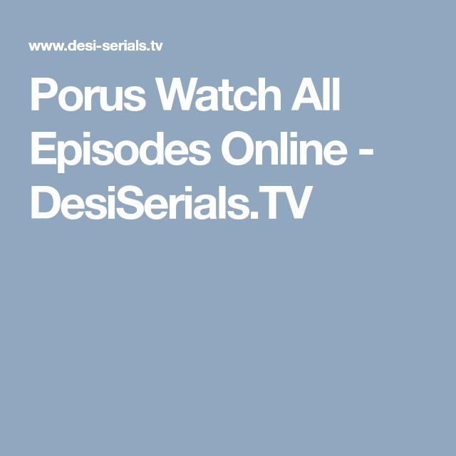 Porus Watch All Episodes Online Desiserials Tv