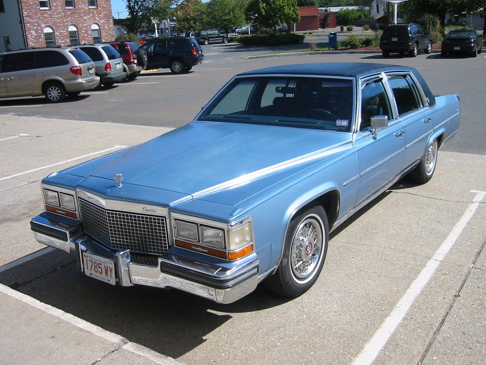 1988 Cadillac Fleetwood Brougham | Cadillac-Fleetwood | Pinterest