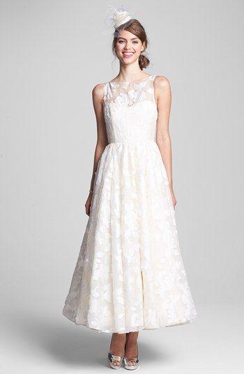 Hayley Paige Tea Length Dress Accessories Dresses Tea Length
