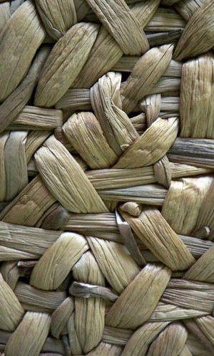 Driftwood handwoven abaca rug, by Merida. | Texture design