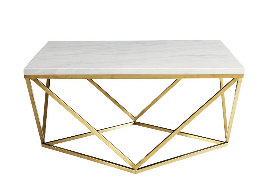 Gold Metal Coffee Table Steal A Sofa Furniture Outlet Los Angeles Ca White Coffee Table Modern Coffee Table White