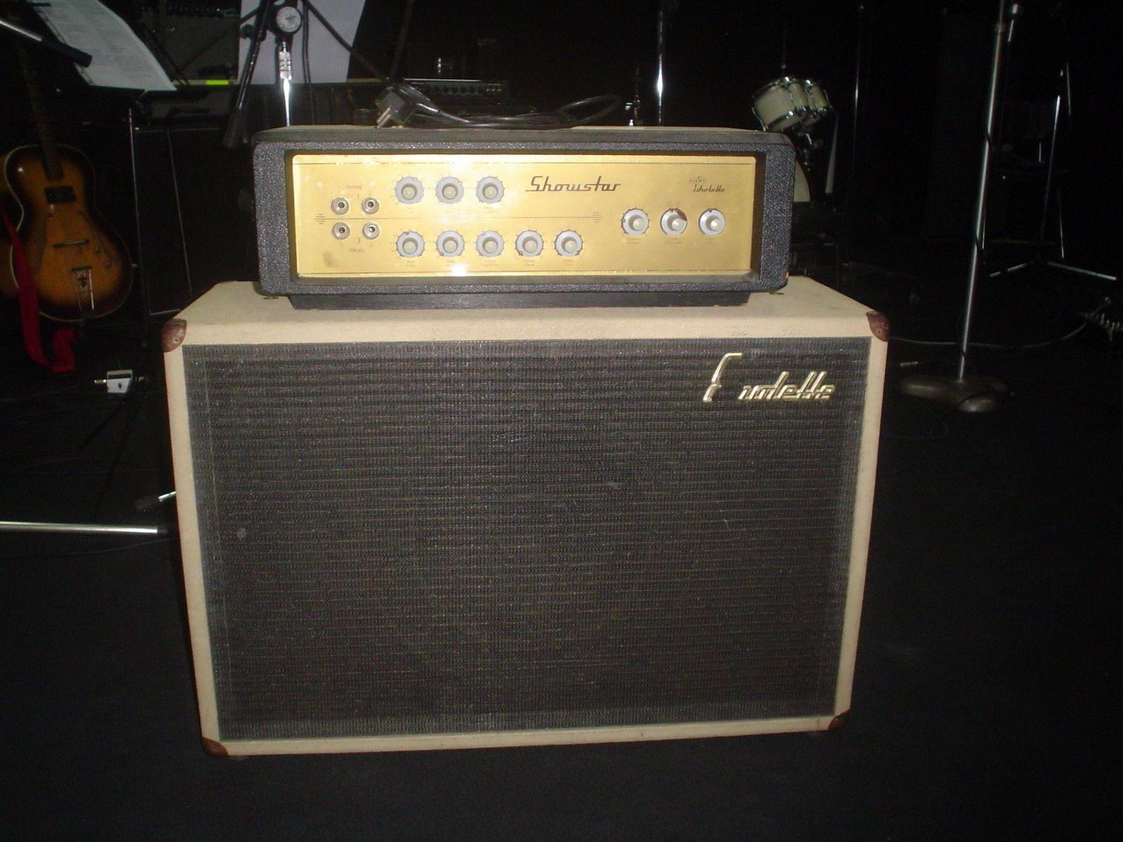Echolette Vintage Gitarre Bass Amp BS 40 plus Box in Hannover Ahlem Badenstedt Davenstedt