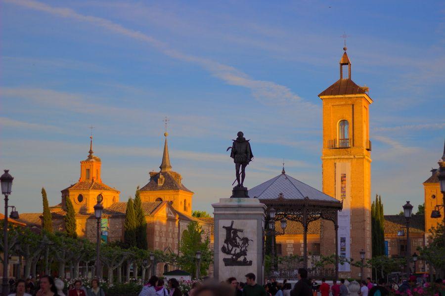 Panorámica de Plaza de Cervantes - Alcalá de Henares
