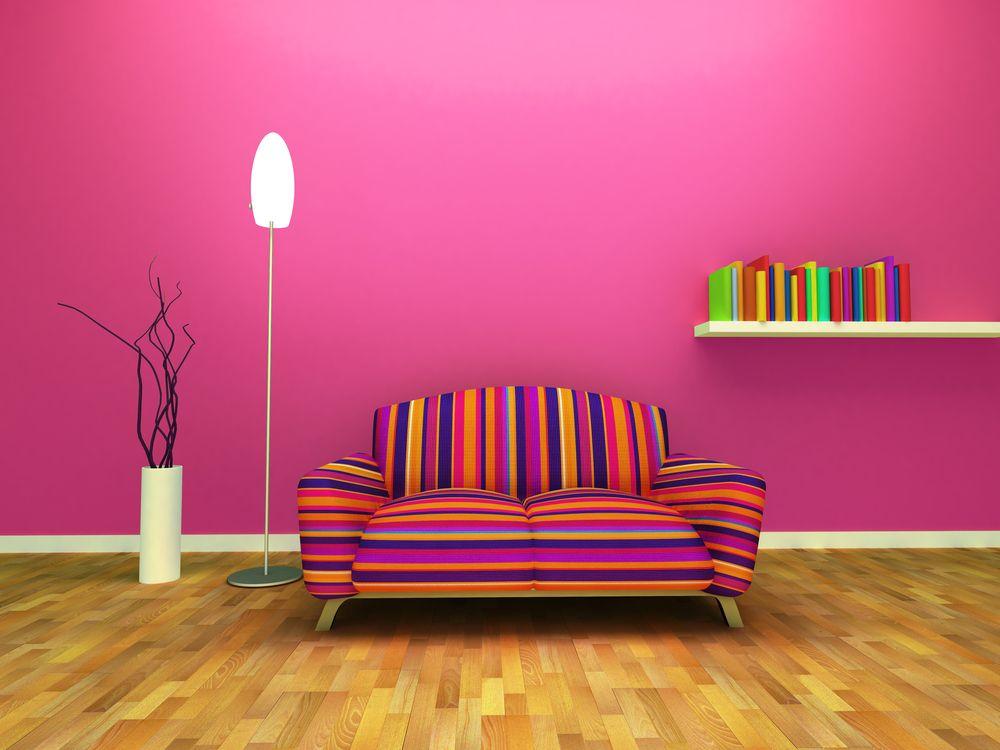 Un color para los amantes del rosa.   Colores para Interiores ...