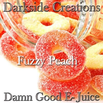 Darkside Creations › Fuzzy Peach Sweet peach candies.  #ejuice #vapejuice #canadianvapers #MacVapes