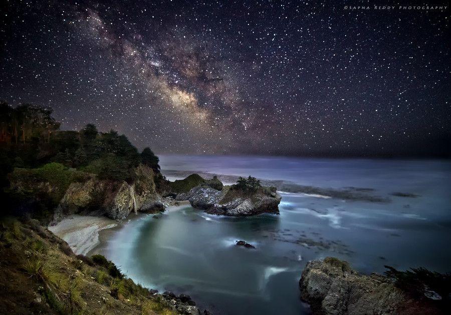 Milky way to Mc Way Falls by Sapna Reddy