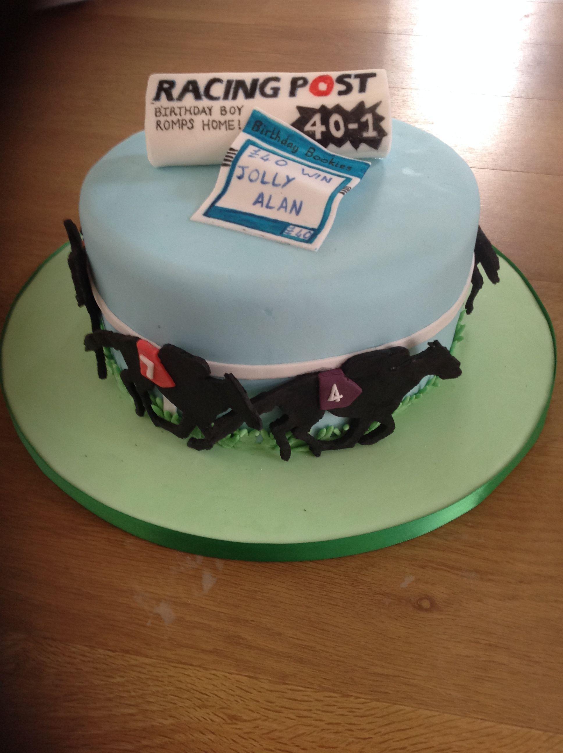 Horse Racing Cake Food Racing Cake Horse Cake Toppers