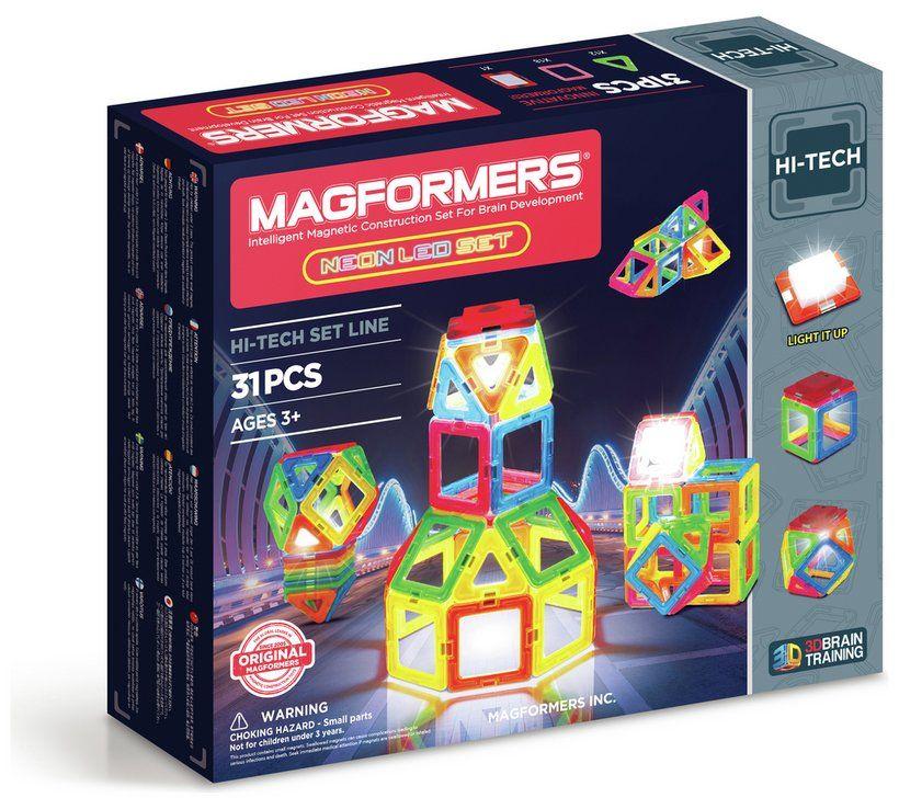 Buy Magformers Neon Led Set Construction Toys Argos Bdayxmas