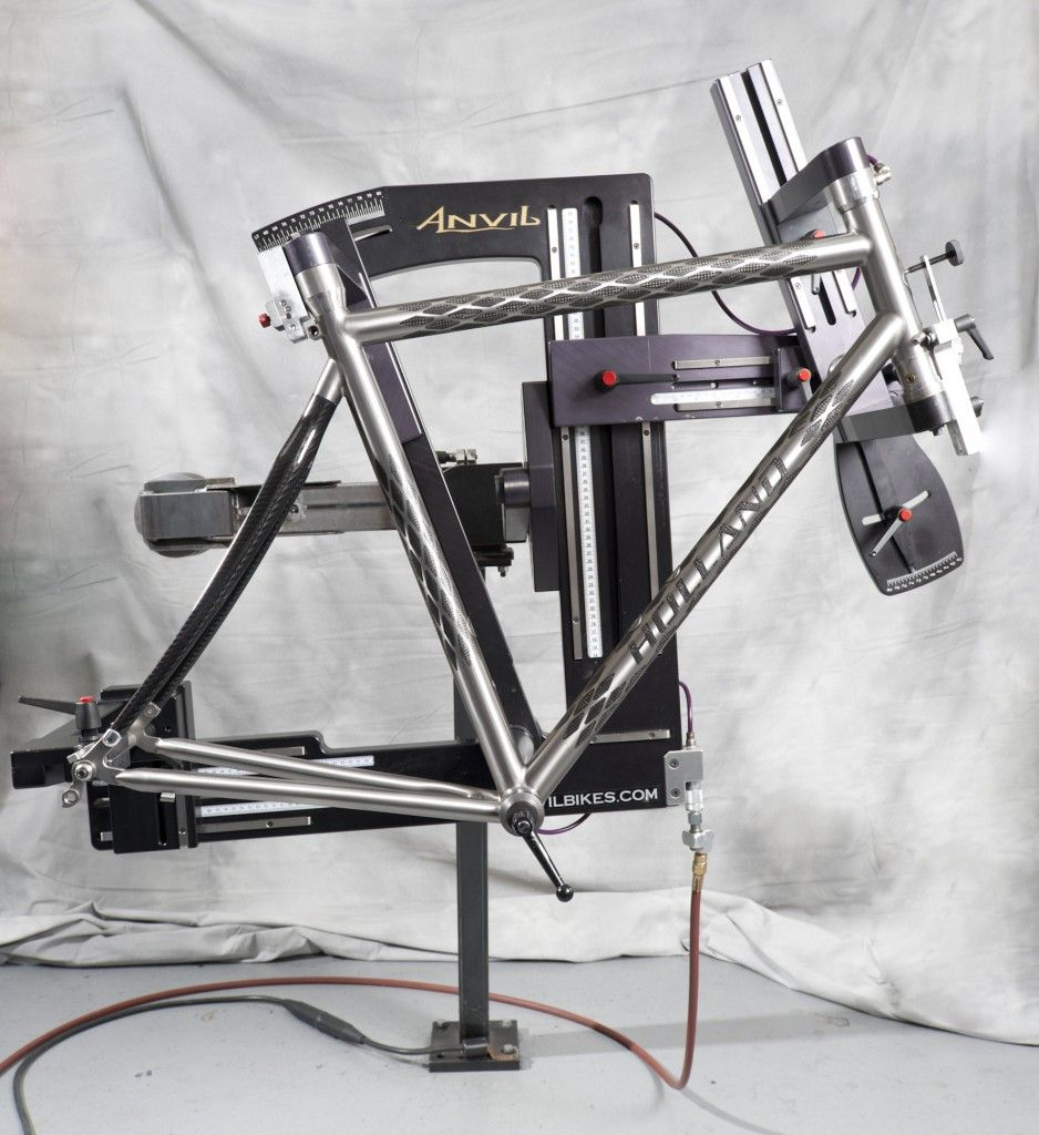 A Small Contribution About Frame Jigs Mtbr Com Bicycles