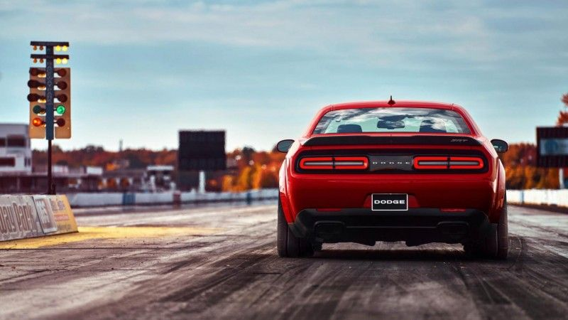 Up To 840 Horses And 770 Pound Feet Of Torque Dodge Demon S Full Specs Come Into View American Luxury Dodge Challenger New Dodge Challenger Dodge Challenger Srt