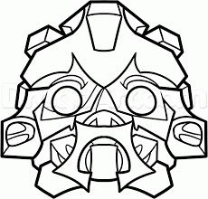 Bumblebee transformer mask template