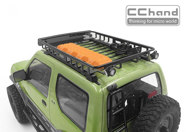 Mst 1 10 Cfx Mst Jimny Kk Roof Rack Rear Light Roof Rack Suzuki Jimny Radio Control Cars Hobbies