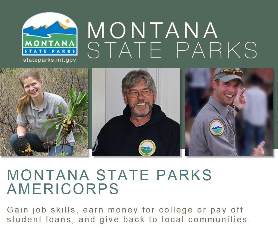 Montana State Parks AmeriCorps Program looking for summer