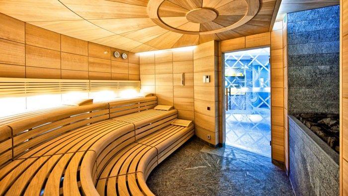 Klafs sauna in the hotel Eden Roc wet areas Pinterest Hotel - modernes design spa hotel