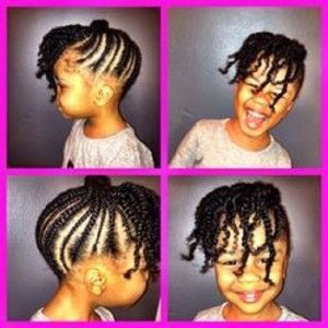 African American Hairstyles Natural Hairstyles For Kids Natural