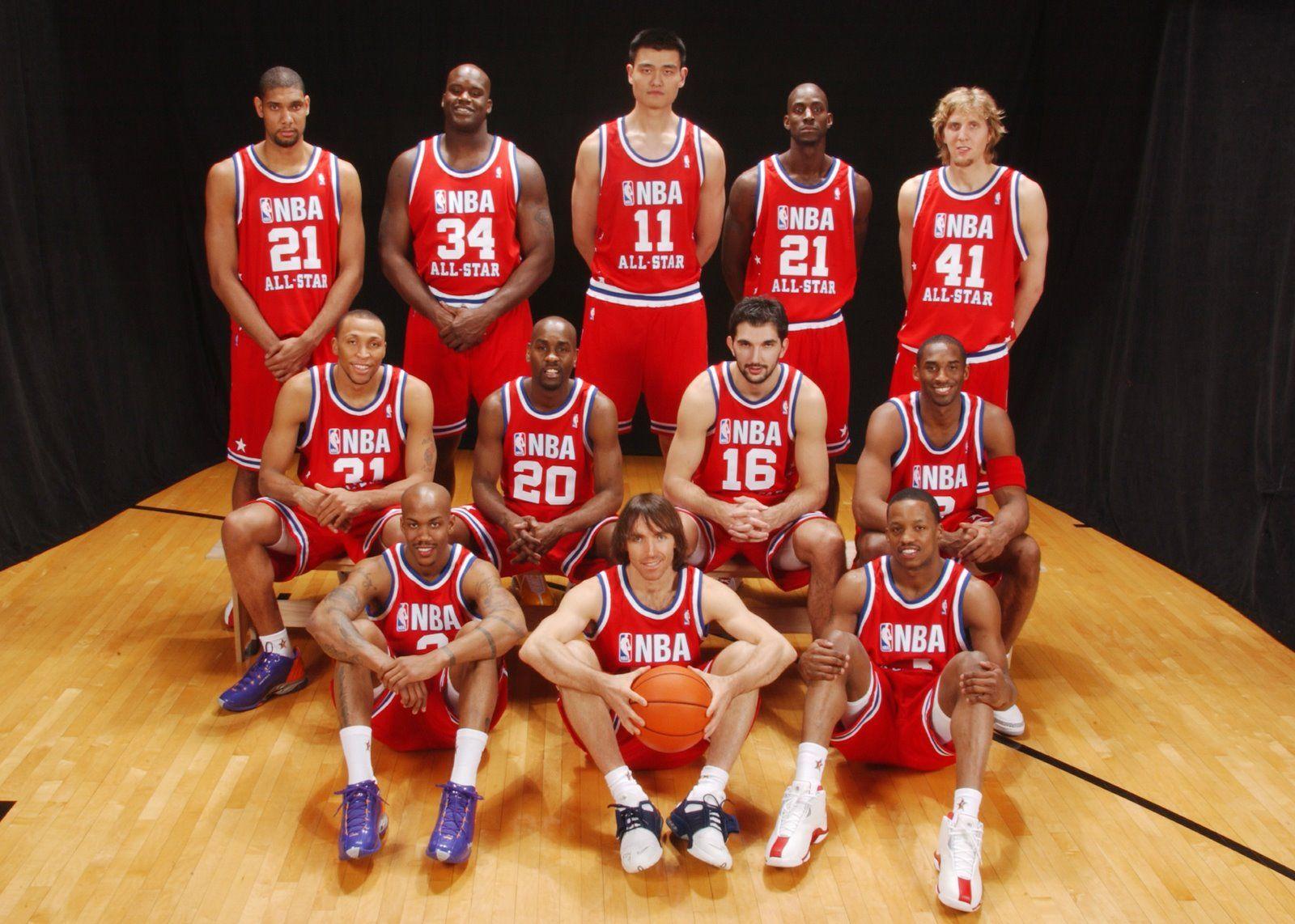 597c6c30a 2003 NBA All Star Game west team