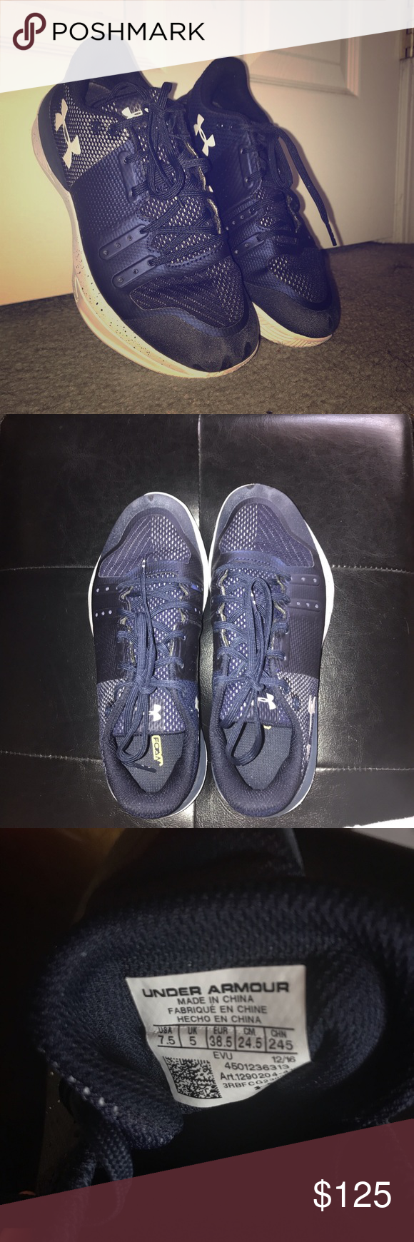 Under Armour Navy Blue Volleyball Shoes Volleyball Shoes Shoes Under Armour