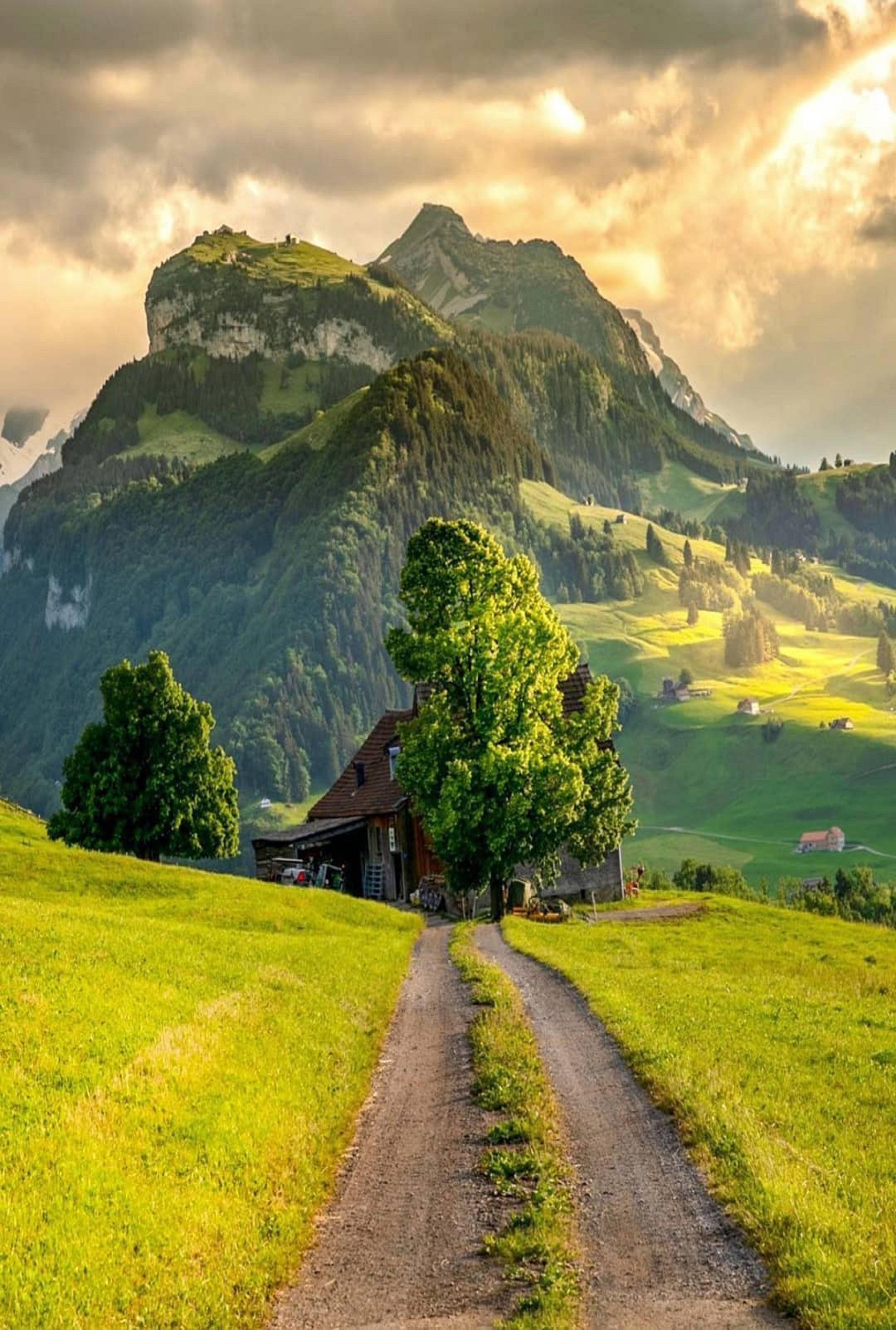 Switzerland Beautiful Landscapes Scenery Beautiful Nature