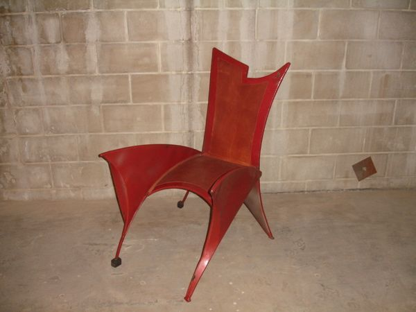 Minneapolis: Steel Sculpture Chair $450 - http://furnishlyst.com/listings/1132866