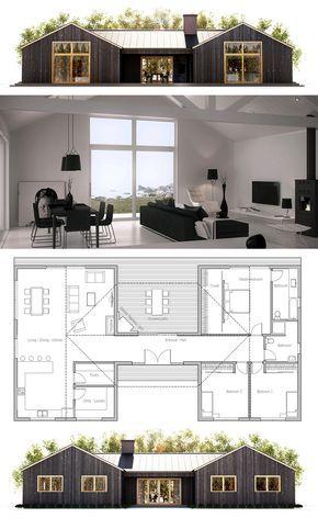 Plan de maison génial! Maison intérieur /extérieur Pinterest - plan de maison design