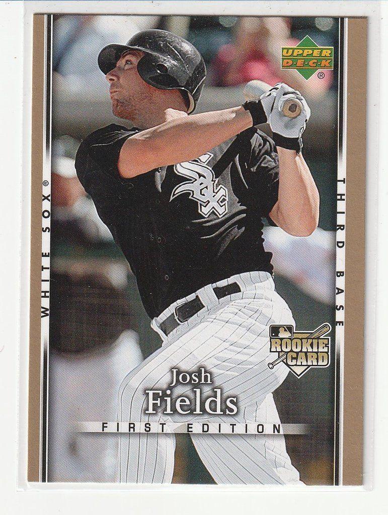 Baseball trading cards josh fields baseball trading