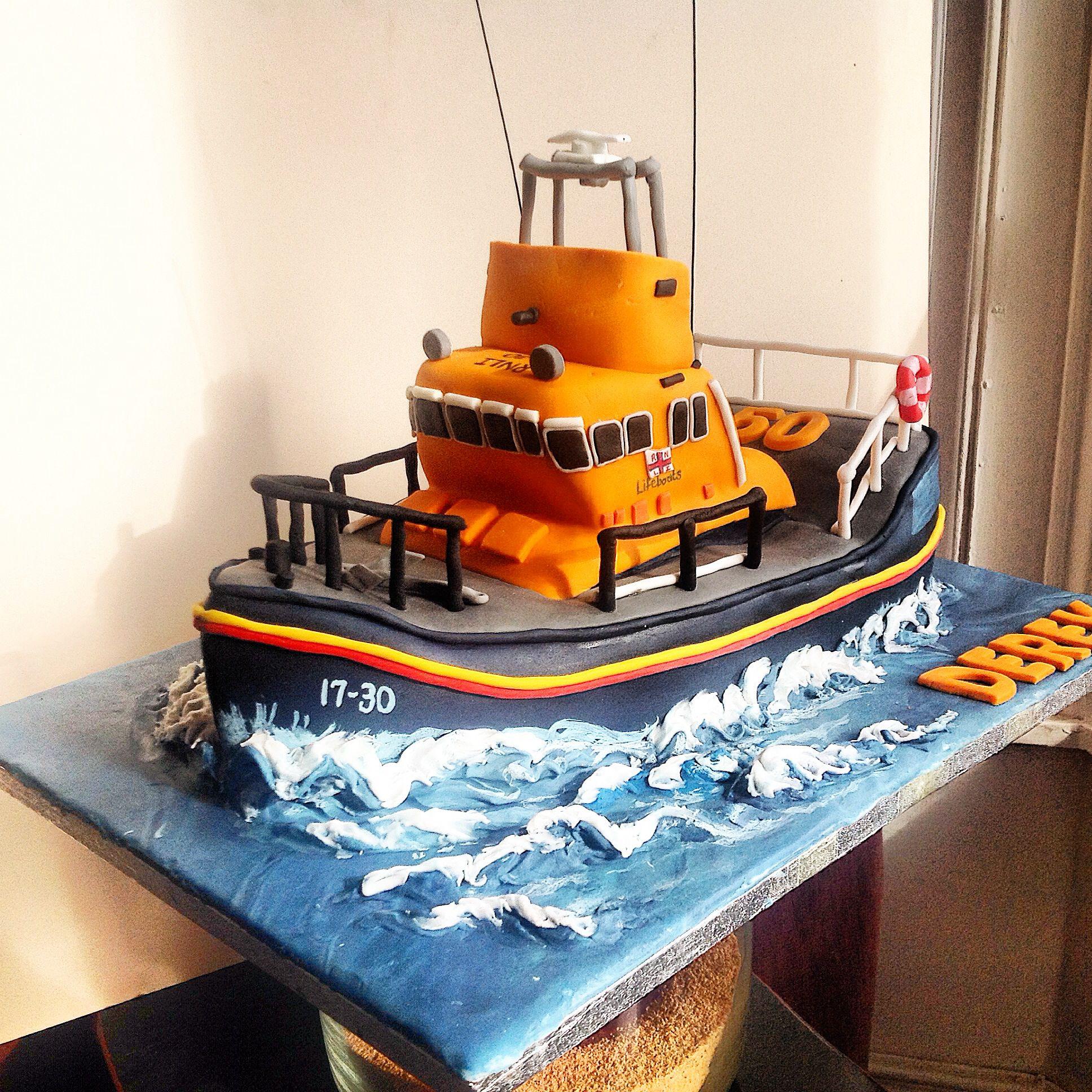 Portrush Lifeboat Cake....Happy 50th....