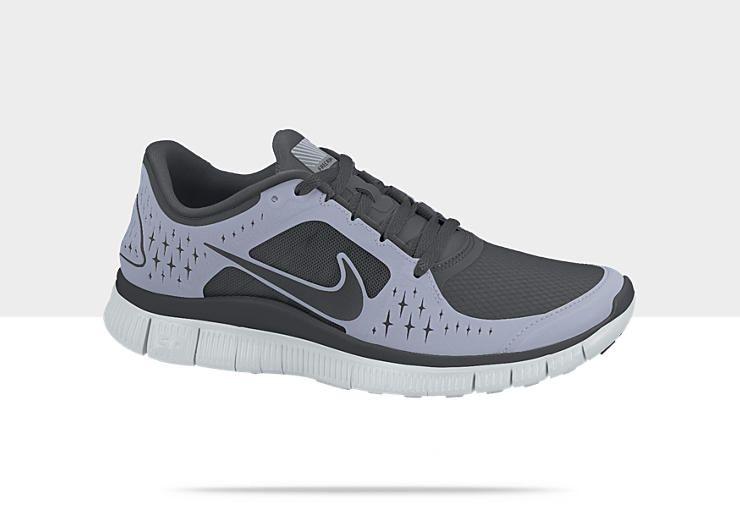 nike free run+ 3 shield running shoes
