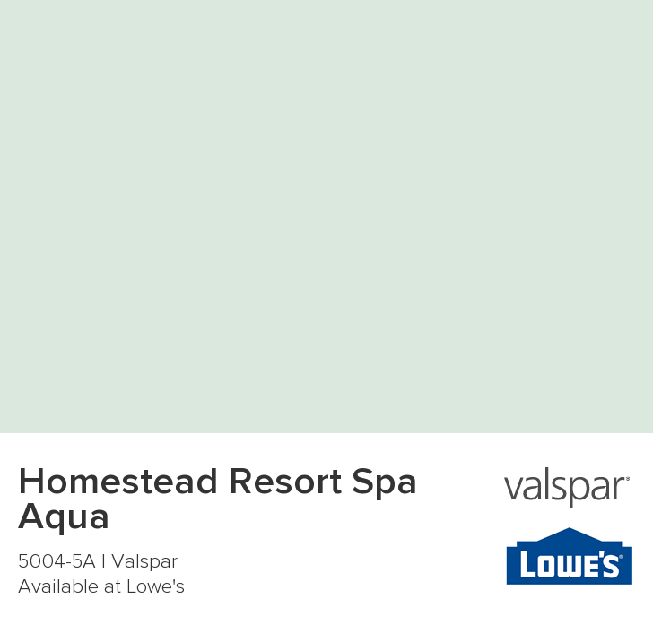 homestead resort spa aqua from valspar valspar valspar on valspar paint visualizer interior id=45562