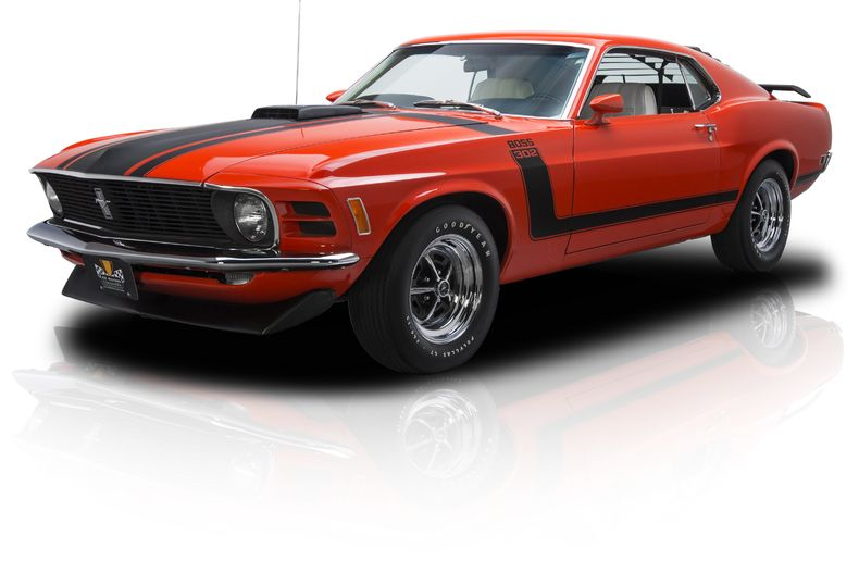 1970 Ford Mustang Boss 302 Orange 1970 Ford Mustang Ford Mustang Boss Ford Mustang Boss 302