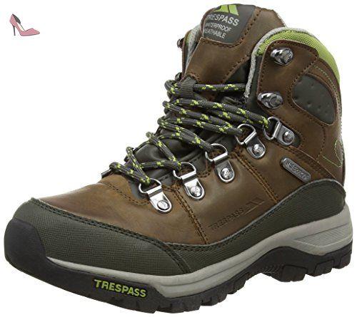 Trespass Tarn, Chaussures de Randonnée Hautes Femme, (Earth), 40 EU