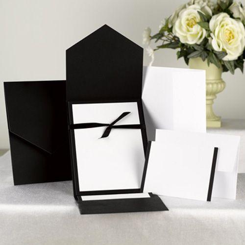 Black and white wedding invitations kits google search 2015 black and white wedding invitations kits google search wedding invitation kitsdiy solutioingenieria Choice Image